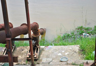Phát hiện chân của một phụ nữ trôi trên sông Hồng