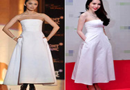 Những chiếc váy copy tài tình của sao Việt