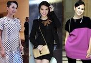"""Những bộ đồ """"che bụng bầu"""" phong cách của mỹ nhân Việt"""