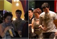 Vũ Hoàng Việt tay trong tay đi xem phim với tỷ phủ U50