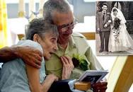 Đám cưới kim cương đầy xúc động của cụ bà chỉ còn sống vài ngày