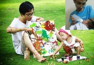 Người cha đơn thân cõng con gái 18 tháng tuổi tuần hành phản đối Trung Quốc: Nguyện làm điểm tựa của đời con