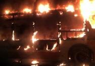 Cháy xe buýt dữ dội tại Quảng Châu, hai người chết