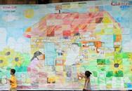Hơn 100 gia đình và bức tranh kỷ lục Việt Nam