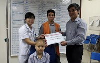 Vòng tay Nhân ái (MS 141): 11 triệu đồng đến với cậu bé mắc bệnh ung thư máu