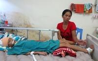 Vòng tay Nhân ái (MS 134): Mẹ nghèo cạn nước mắt bên đứa con bị bác rể đánh vỡ đầu
