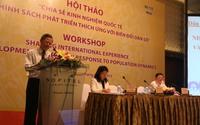 Hội thảo về thích ứng với tình hình biến đổi dân số