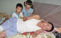 Lời cầu cứu của nhân viên y tế có chồng bị cưa cụt chân, tay