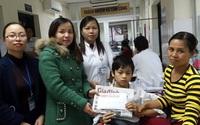 Cậu học trò nghèo nguy cơ mất 1 chân đã được phẫu thuật kịp thời