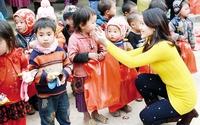 Những chuyến xe thiện nguyện vì trẻ em vùng cao