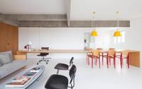 Nhà 96 m2 thông thoáng nhờ thiết kế tối giản bỏ bớt tường