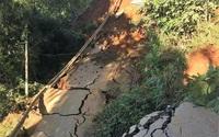 Thông tin mới nhất vụ lở đường độc đạo, cô lập huyện miền núi Yên Bái