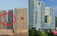 """Đảm bảo 99% người xem không biết vì sao cao ốc hoành tráng ở Hong Kong lại có """"lỗ thủng"""" xấu xí này"""