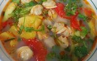 Cách làm canh ngao nấu dứa chuẩn vị, ngon ngây ngất cho ngày nắng