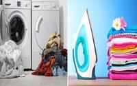 Nàng dâu đảm bày cách giữ quần áo luôn phẳng phiu dù giặt bằng máy hàng ngày