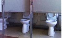 """Cười ngất trước những nhà vệ sinh phiên bản lỗi nặng: """"Đố dám ngồi vào đấy!"""""""