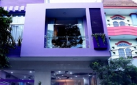 Ngôi nhà màu tím hơn 100 mét vuông gần triệu đô của nghệ sĩ hài Hồng Tơ