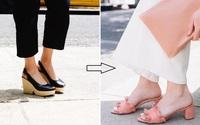 5 kiểu giày già nua và giải pháp thay thế để không biến bạn