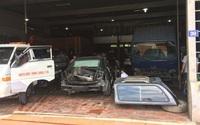 """Bị tố """"chặt chém"""", nhiều ô tô gặp nạn vẫn được cứu hộ đưa về gara Mạnh Sơn"""