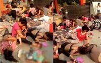 Nổ gần cổng nhà trẻ ở Trung Quốc, 7 người chết