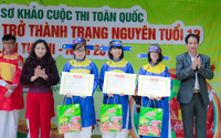Học sinh Hà Nội hào hứng với cuộc thi trở thành Trạng nguyên tuổi 13