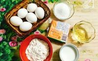 Công thức làm bánh bông lan phô mai Đài Loan