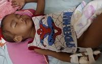 Sự sống bé trai 3 tuổi nguy kịch khi mắc bệnh ung thư