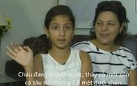 Bé gái 10 tuổi dùng tay banh hàm cá sấu khi bị tấn công
