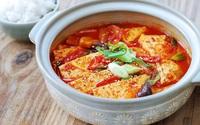 Cơm tối đậm đà với món đậu phụ om kiểu Hàn
