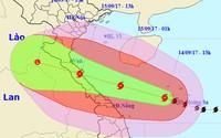 Sáng mai, bão số 10 đổ bộ Nghệ An - Quảng Trị