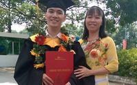 Chàng sinh viên khuyết tật tốt nghiệp công nghệ thông tin hạng ưu