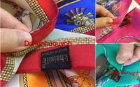 Vụ Khaisilk: Nhân viên tự ý nhập khăn lụa