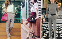 Cùng 1 món đồ, cách biến hóa của mỹ nhân Việt có thể tạo ra 10 phong cách khác nhau