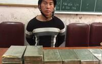 Nghệ An: Bắt đối tượng mang 20 bánh heroin từ Lào về Việt Nam