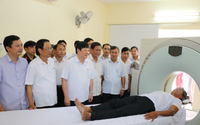 Bệnh viện Đa khoa Hương Sơn khai trương máy chụp cắt lớp vi tính