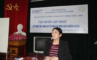 Phú Thọ: Tập huấn kỹ thuật đặt dụng cụ tử cung và kiểm soát nhiễm khuẩn cho cán bộ cung cấp dịch vụ KHHGĐ/SKSS năm 2017