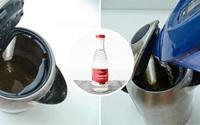 4 cách làm sạch vết cáu bẩn trong ấm đun nước siêu nhanh nhưng không phải ai cũng biết
