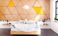 17 phòng ngủ ốp gỗ xua tan định kiến về nội thất gỗ là nặng nề và già nua