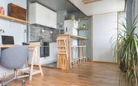 Nội thất của căn hộ nhỏ này sẽ khiến bạn bạn ngỡ ngàng vì quá hợp lý