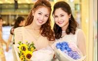 BTV Khánh Ly thân thiết cùng MC Vân Hugo như hai chị em