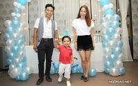 Khánh Thi - Phan Hiển mở tiệc mừng con trai tròn 2 tuổi