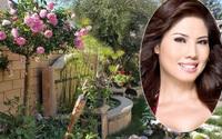Biệt thự 4 mùa đều rợp sắc hoa của ca sỹ Hồ Lệ Thu