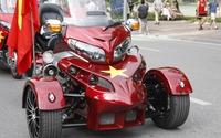 """Chiếc mô tô khủng được mệnh danh """"Vua đường trường"""" độ ba bánh độc nhất miền Bắc"""