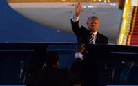 Hình ảnh đầu tiên của Tổng thống Mỹ trong chuyến thăm Hà Nội 2 ngày