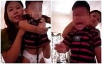 Sự thật đằng sau clip mẹ dùng dây thít cổ con trai thản nhiên quay clip khiến cộng đồng mạng phẫn nộ