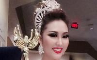 Phi Thanh Vân vừa đăng quang Hoa hậu đã bị bắt lỗi ứng xử gây cười