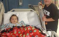 Bé 6 tuổi phải cắt chân chỉ vì bị đau họng