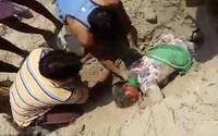 Thiếu nữ Ấn Độ sống sót sau 2 tiếng bị chôn sống