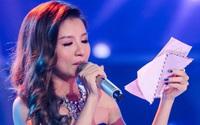 Hot girl 9X bật khóc trên sân khấu khi nhận thư của mẹ bị ung thư