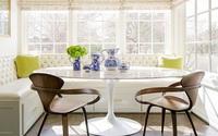 29 mẫu bàn ghế ăn khiến phòng ăn nhà bạn từ nhỏ hóa rộng thênh thang (P2)